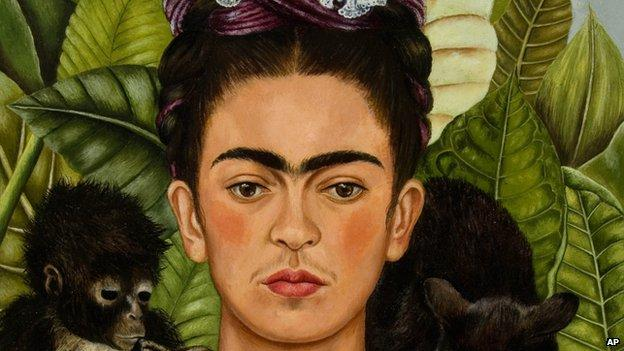 Mexican artist Frida Kahlo's native garden and studio are recreated at the New York Botanical Garden.