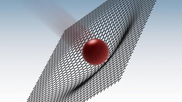 "The ""wonder material"" graphene could be used to make bulletproof armour, new research suggests."