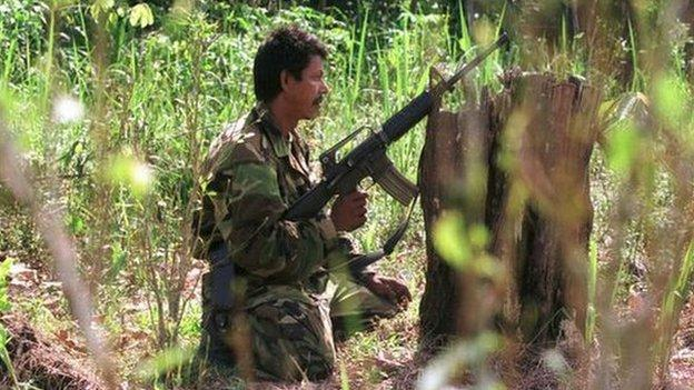 Colombia's Farc rebels declare a unilateral ceasefire for an indefinite period of time, but the government is yet to respond to the move.