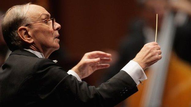 Renowned Italian film composer Ennio Morricone tells the BBC's Will Gompertz that he regrets turning down the chance to compose music for Clint Eastwood.