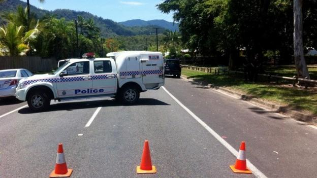 Eight children are found dead at a house in the Manoora suburb of Cairns, Australia, say police, reportedly after a mass stabbing.