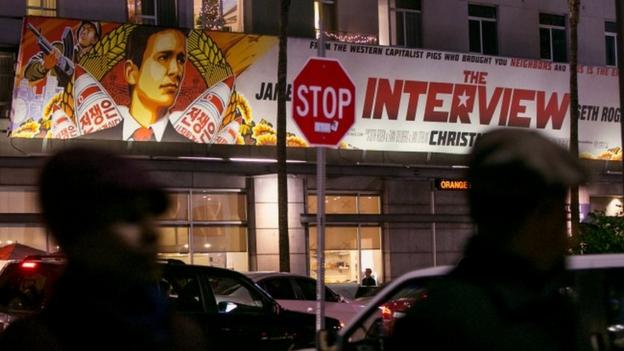 President Obama vows to respond to North Korea's alleged cyber-attack on Sony and calls the decision to cancel the film The Interview a mistake.
