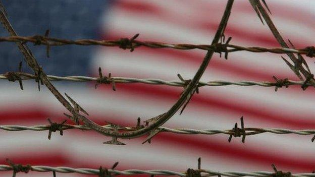Four Afghan detainees at the US prison in Guantanamo Bay in Cuba have been sent back to their home country, the Pentagon says.