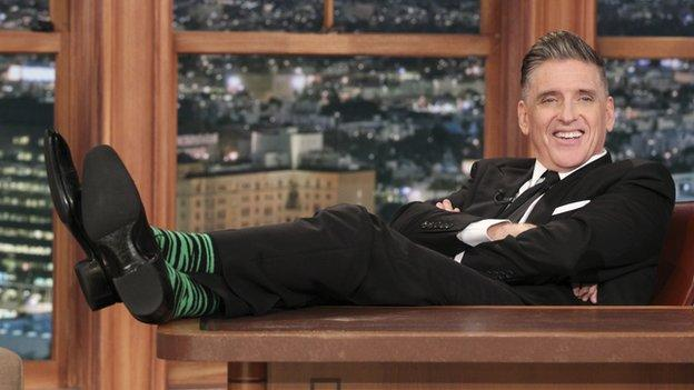 Scots-born comedian Craig Ferguson hosts his last edition of US talk show The Late Late Show after a run of 10 years.