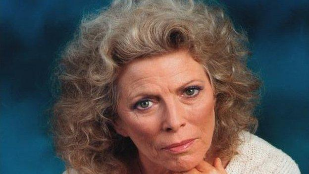Acclaimed actress Billie Whitelaw, who starred on stage and screen and worked in close collaboration with Samuel Beckett, dies in London.
