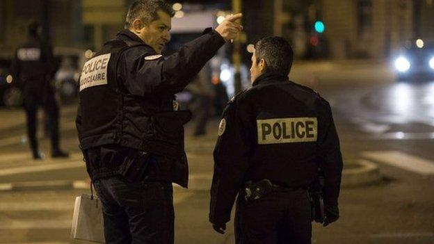 "A driver shouting the Islamic phrase ""God is great"" in Arabic runs down pedestrians in the French city of Dijon, injuring 11, French media say."