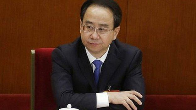 China launches an investigation into former President Hu Jintao's top aide, state media report.