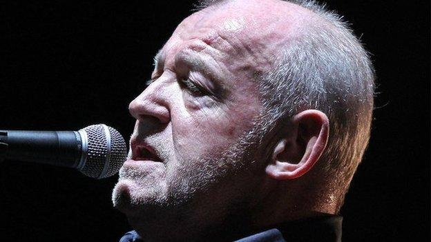 Singer Joe Cocker, best known for his cover of the Beatles' With A Little Help From My Friends, dies aged 70.