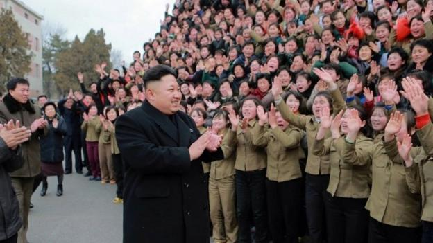 Some internet services have been restored in North Korea after a severe outage, amid a cyber security row with the US.