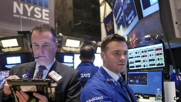 US stocks hit record levels, with both the Dow Jones and the S&P 500 closing at all-time highs and the Nasdaq breaking the 5,000 barrier for the first time in 15 years.