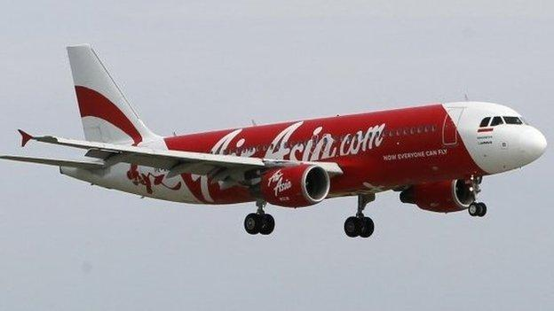 Air Asia flight QZ8501 travelling from Indonesia to Singapore with more than 160 people on board has gone missing, the company says.