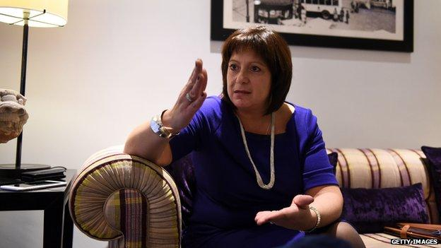 "Ukraine's new finance minister Natalie Jaresko says a proposed bailout package from the International Monetary Fund will be ""sufficient to rebuild credibility"" in the country's economy."