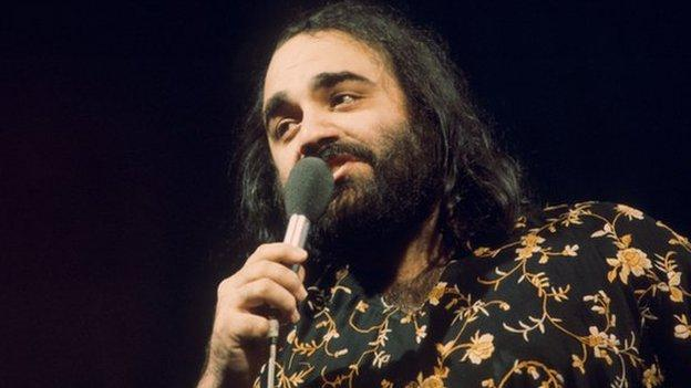 Greek singer Demis Roussos, who sold more than 60 million albums worldwide, has died aged 68, an Athens hospital confirms to the BBC.