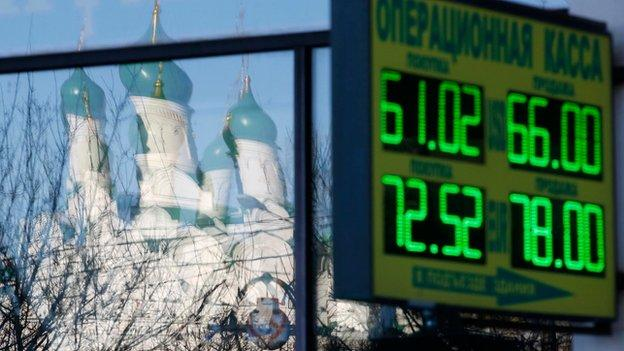 Russia's credit rating is cut to junk by US ratings agency Standard and Poor's for the first time in a decade.