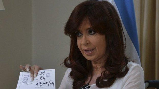 Argentine President Cristina Fernandez de Kirchner announces plans to dissolve the country's intelligence agency after the mysterious death of a prosecutor.
