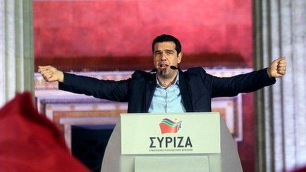 It is unrealistic to expect Greece to repay its huge debt in full, a spokesman for Syriza - which won Sunday's election - tells the BBC.