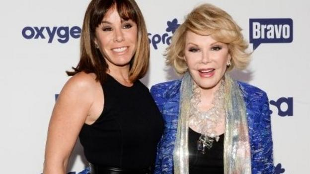 Joan Rivers' daughter files a malpractice claim against the New York clinic that treated her mother days before she died.