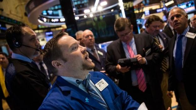 The Nasdaq and S&P 500 close at new record highs after US tech firms report strong first quarter profits.