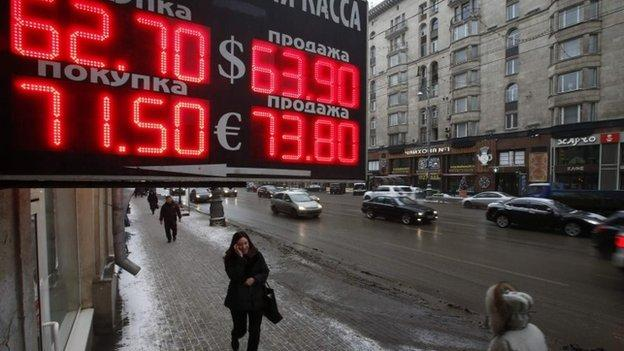 "Russia has cut its main interest rate from 17% to 15% because inflation ""is stabilising""."