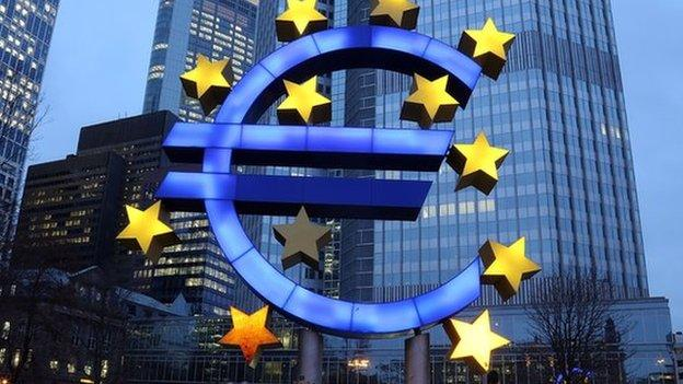 Eurozone deflation deepens in January, as prices fall by 0.6% compared with last year, pushed down by lower oil prices.