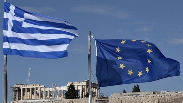 "EU financial commissioner Pierre Moscovici tells the BBC that Greece belongs in the eurozone, and vows to prevent a ""Grexit""."