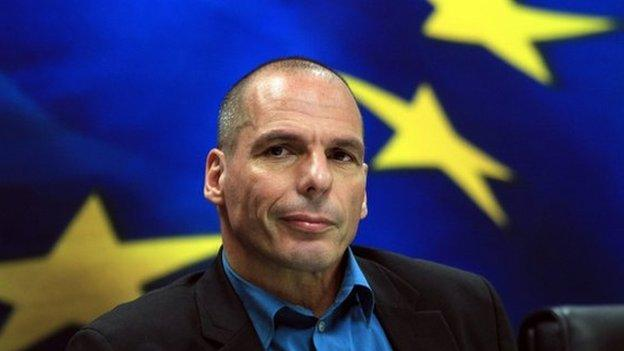 Greek Finance Minister Yanis Varoufakis is holding talks in France, as Greece begins its drive in Europe to renegotiate the country's huge debt.