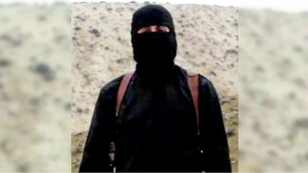"The widow of a man killed by ""Jihadi John"", the masked Islamic State militant identified on Thursday as a man from London, says she wants him caught alive."
