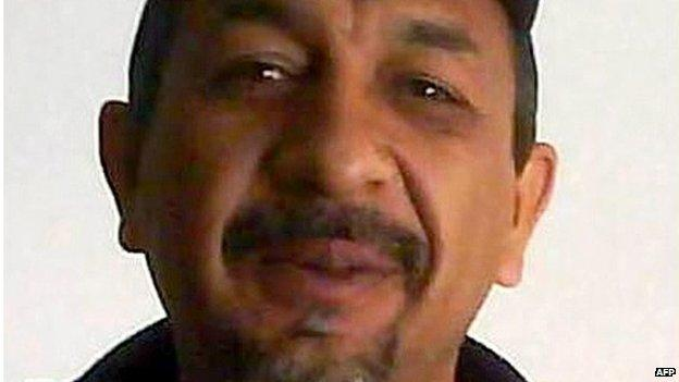 Mexican security forces confirm the arrest of the country's most wanted drug lord - Knights Templar chief Servando 'La Tuta' Gomez.