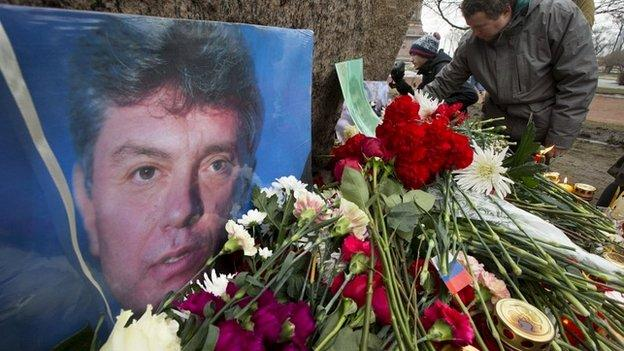 Thousands of people are set to take part in a march in Moscow to honour opposition politician Boris Nemtsov, who was shot dead on Friday.