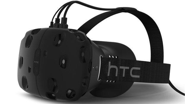 HTC reveals it is to sell a virtual reality headset featuring tracking technology developed by video games firm Valve.