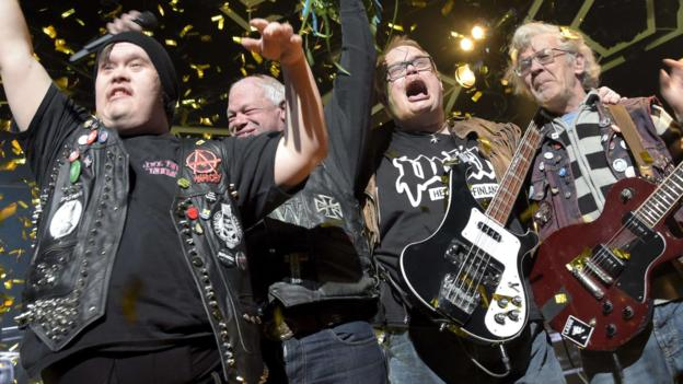A punk band made up of musicians with learning disabilities is chosen to represent Finland at the Eurovision Song Contest.