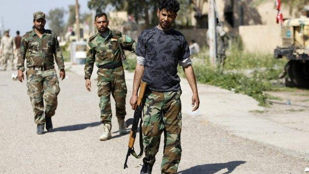 Iraq launches a military operation to recapture Saddam Hussein's hometown of Tikrit from Islamic State.