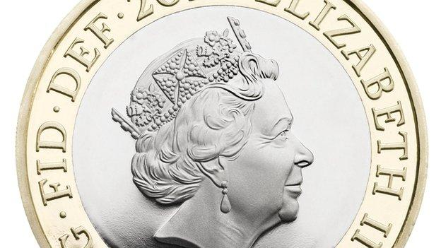 A new coinage portrait of the Queen is unveiled, but the image will only appear on coins later this year.