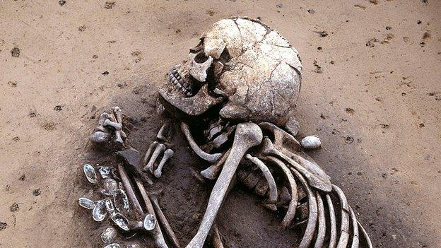 DNA analysis has revealed evidence for a massive migration into the heartland of Europe 4,500 years ago.