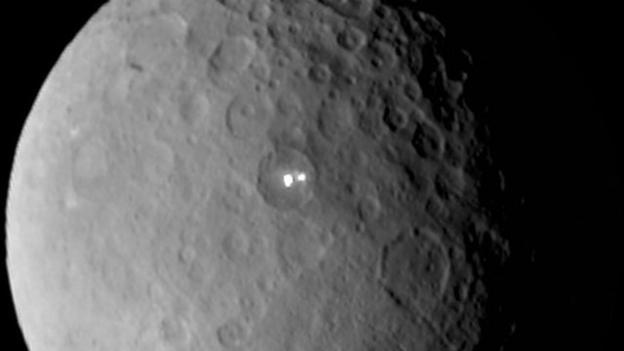 As Nasa's Dawn satellite prepares to enter into orbit around the dwarf planet Ceres, scientists say they are excited to learn more about the two bright spots on its surface.