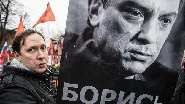 The funeral is to be held in Moscow of Russian opposition politician Boris Nemtsov, who was shot dead in the Russian capital on Friday.