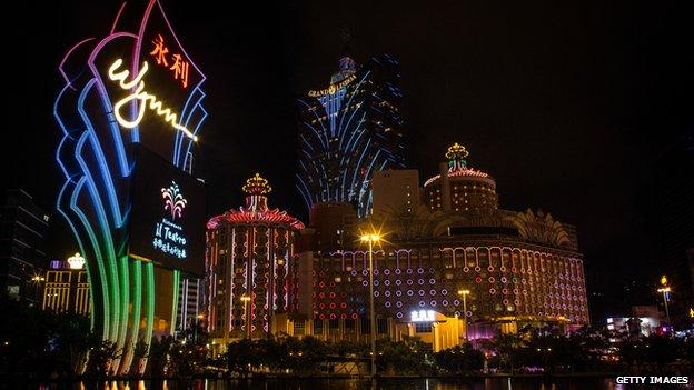 Revenue in Macau's casinos fell by a record amount last month as China's corruption crackdown continued to hit the region's gambling industry.