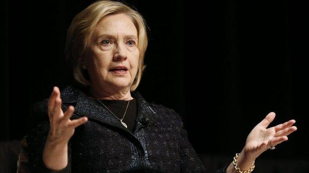 Hillary Clinton responds to a growing controversy over her emails when she was a US secretary of state by urging officials to release them swiftly.