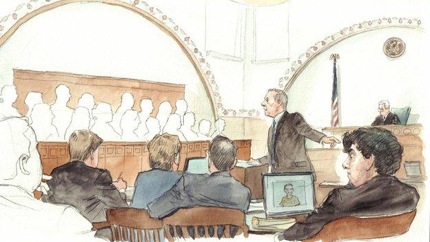Defence lawyers in the trial of one of the men accused of bombing the Boston Marathon in 2013 admit he carried out the attack but say he was coerced.