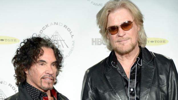 Hall and Oates are suing a Brooklyn-based cereal firm claiming their granola Haulin' Oats infringes their trademark.