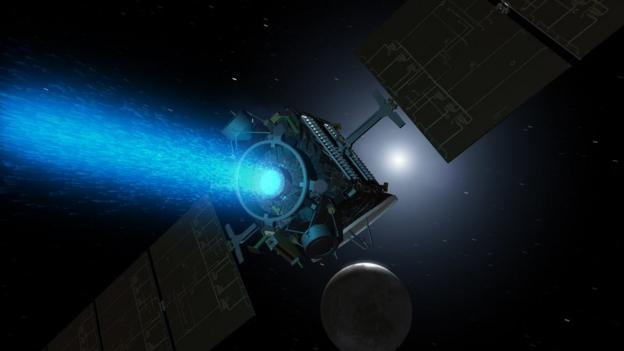 Nasa is waiting for confirmation that its Dawn probe has gone into orbit around Ceres, the largest object in the asteroid belt between Mars and Jupiter.