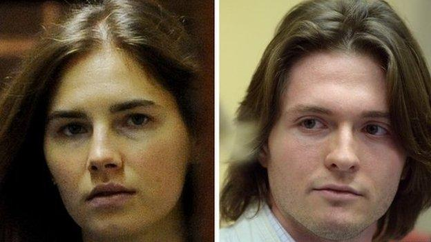Italy's top appeals court acquits Amanda Knox and Raffaele Sollecito of the murder of British student Meredith Kercher in 2007.