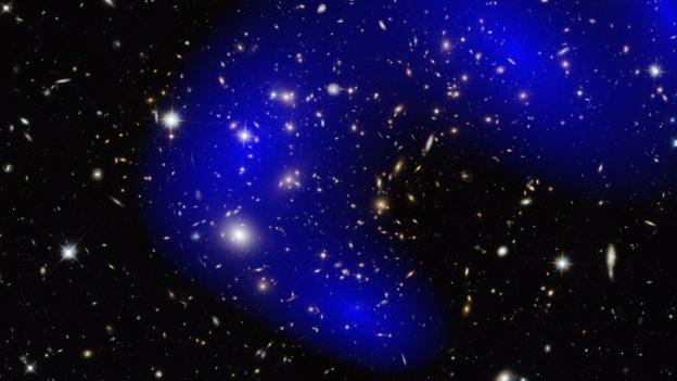 A long-running study shows dark matter coasts unscathed through galactic collisions, betraying a ghostly lack of interaction with the known Universe.