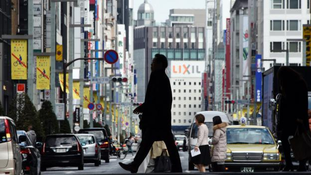 Annual core consumer inflation in Japan, the world's third-largest economy, stopped rising for the first time in nearly two years in February.