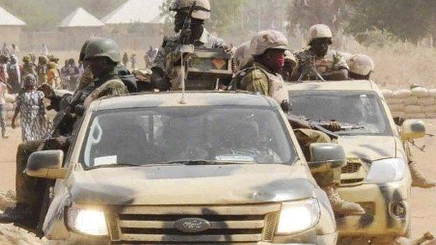The Nigerian army says it has retaken the north-eastern town of Gwoza, believed to be the headquarters of Islamist militant group Boko Haram.