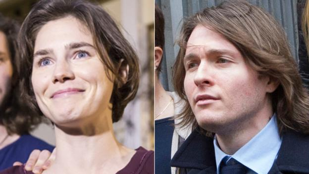 Amanda Knox and Raffaele Sollecito are acquitted by Italy's top appeals court of murdering British student Meredith Kercher in 2007 - the final ruling in the case.