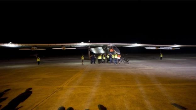 Solar Impulse, the fuel-free aeroplane, heads out of Myanmar and on to China on leg five of its attempt to fly around the world.