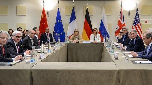 Last hours of intensive diplomacy over Iran's nuclear programme take place in Switzerland ahead of Tuesday's deadline for a long-awaited deal.