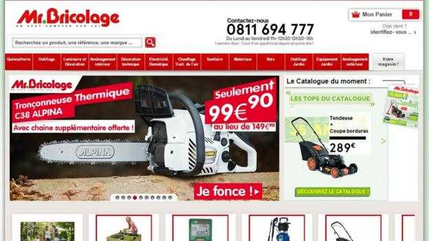 The owner of B&Q, Kingfisher, has abandoned its planned purchase of French DIY chain Mr Bricolage.