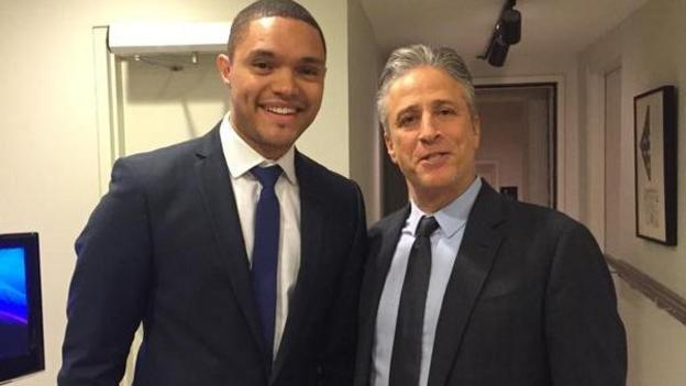Comedian Trevor Noah will replace Jon Stewart on The Daily Show, it is announced.